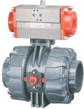 VKD-CP DN65..100 Pneumatische kogelkraan