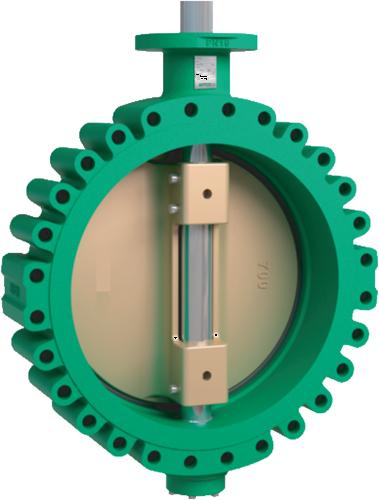 Vlinderklep High performance lugtype flens EBS940