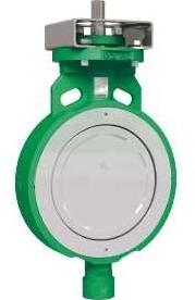 Vlinderklep High performance wafer flens type EBS960