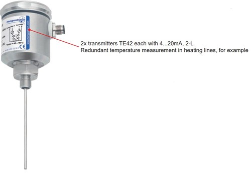 Hengesbach Weerstandsthermometer QUICKTEMP-systeem - Type TP62 / TW39 ... T500