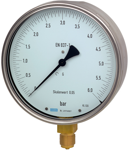 Test gauge, Model 312.20