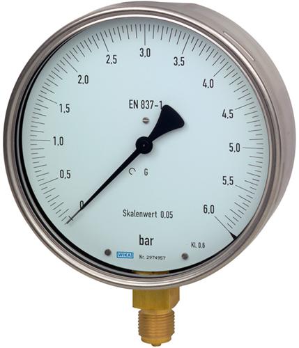 Wika Test gauge, Model 312.20