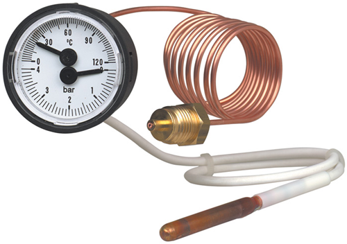 Thermomanometer, Model MFT