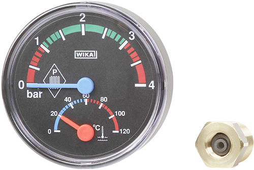 Wika Thermomanometer, Model THM10