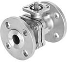 Festo Ball valves VZBF