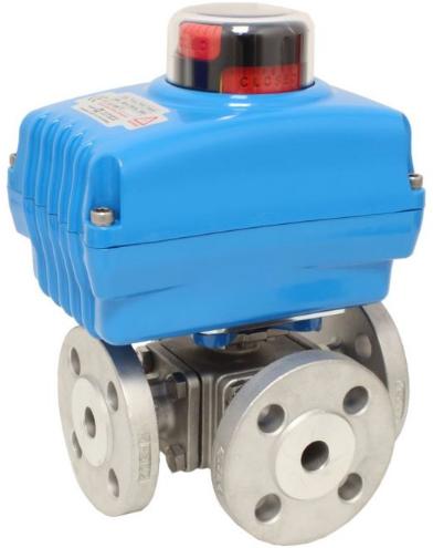 EBZD311504-NE054100 Kogelafsluiter-ZD, DN25 met aandrijving NE05